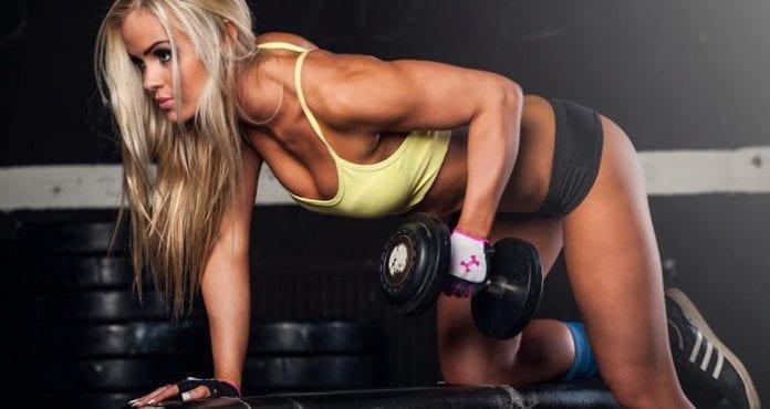 Gym jente