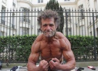 hjemløse kroppsbyggeren fra Paris