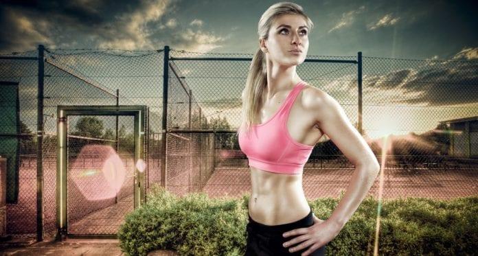Fitness jente