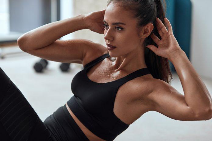 sterke magemuskler