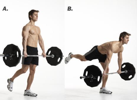 single-leg-barbell-straight-leg-deadlift