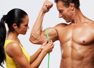 Mål av musklene
