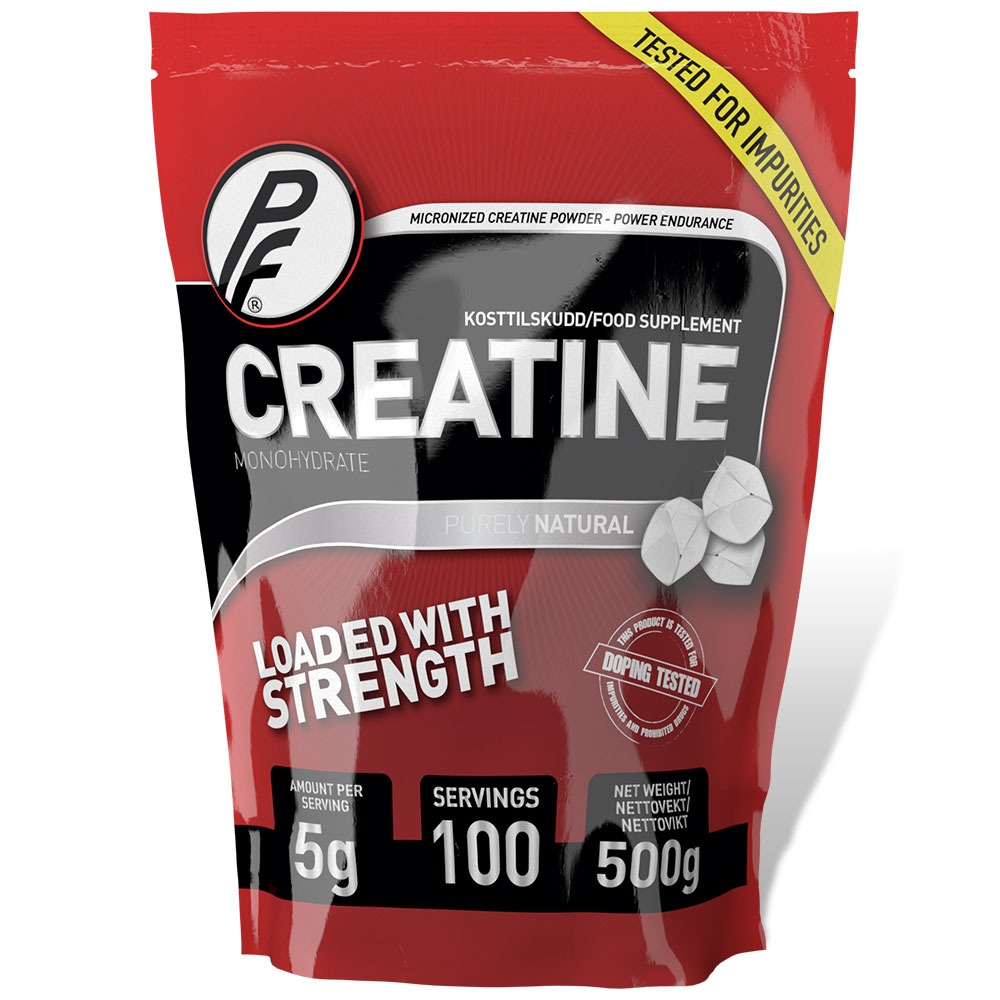 Creatine Monohydrate 500g pose - Purely Natural