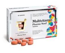 WEB_Image Pharma Nord - Multivitamin 60 Tabletter -2023565610