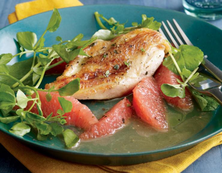 chicken-with-grapefruit