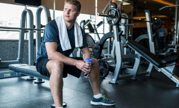 Trener på gym