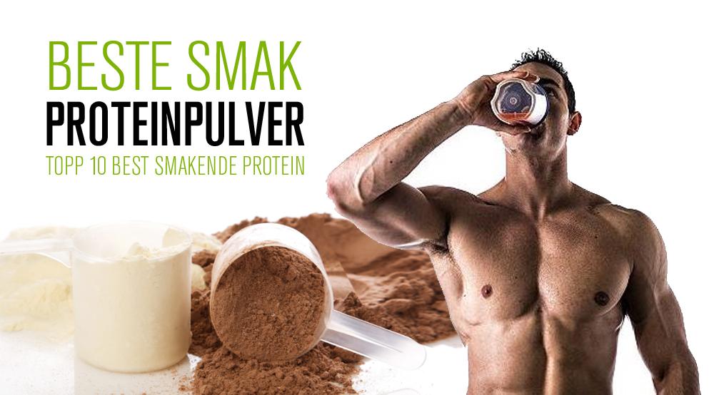 Best smak proteinpulver