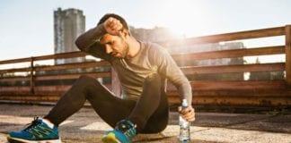 svetter etter løping
