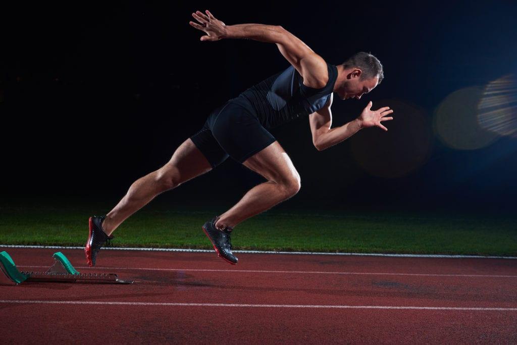 Sprint er en øvelse som stiller store krav til utøverens eksplosivitet og anaerobe kapasitet.