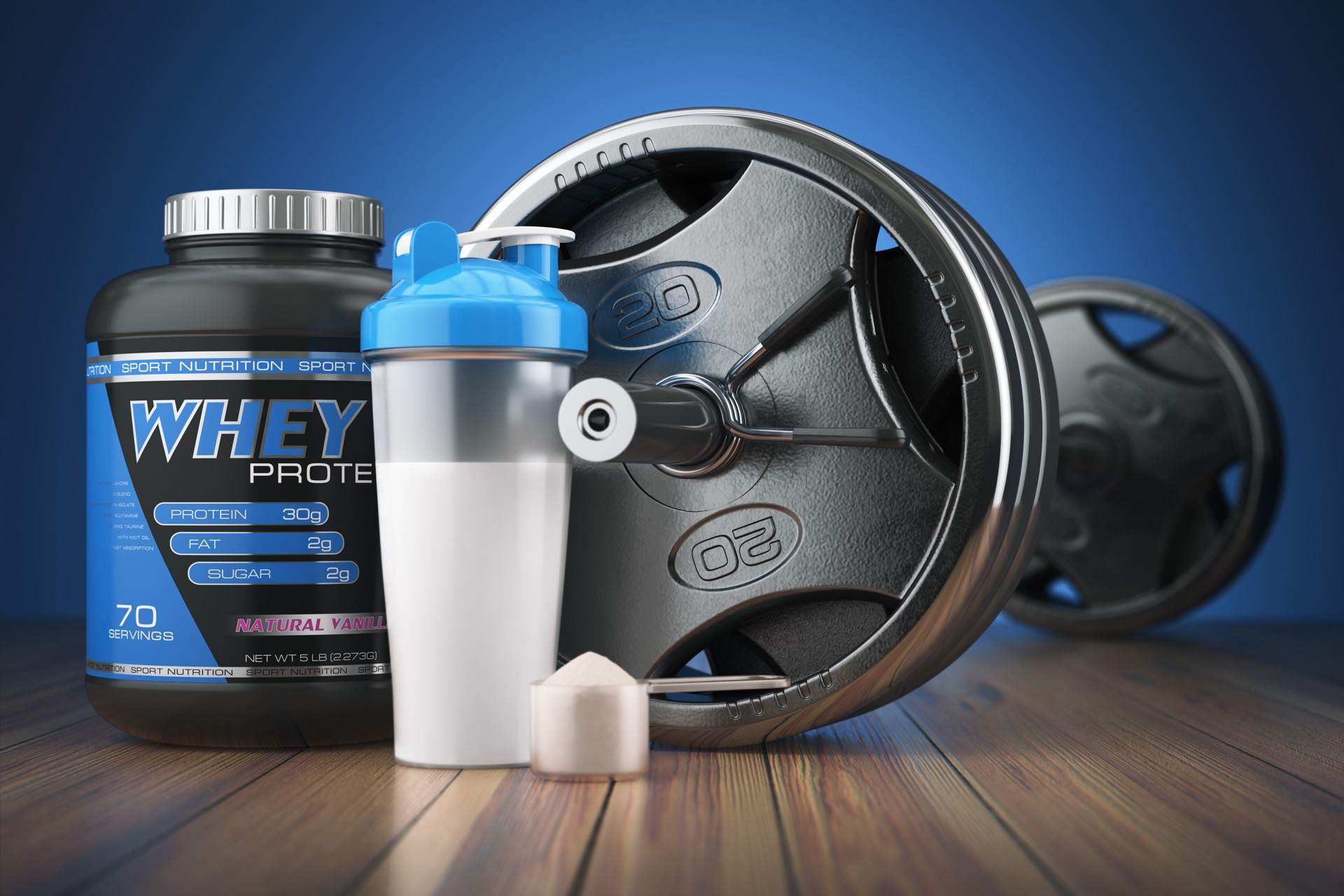 micro whey active test