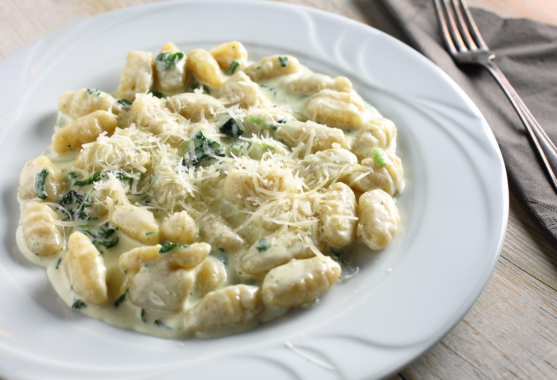 pasta med ost