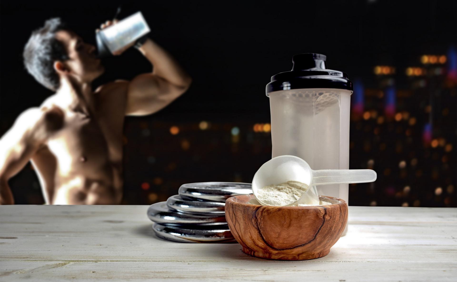 proteinpulver og muskelvekst