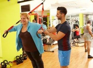 treningsprogram overvektige