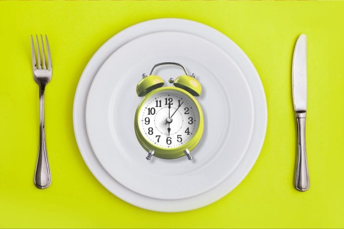 periodisk faste 18:6 diett