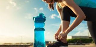 vann trening