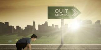 røyking og trening