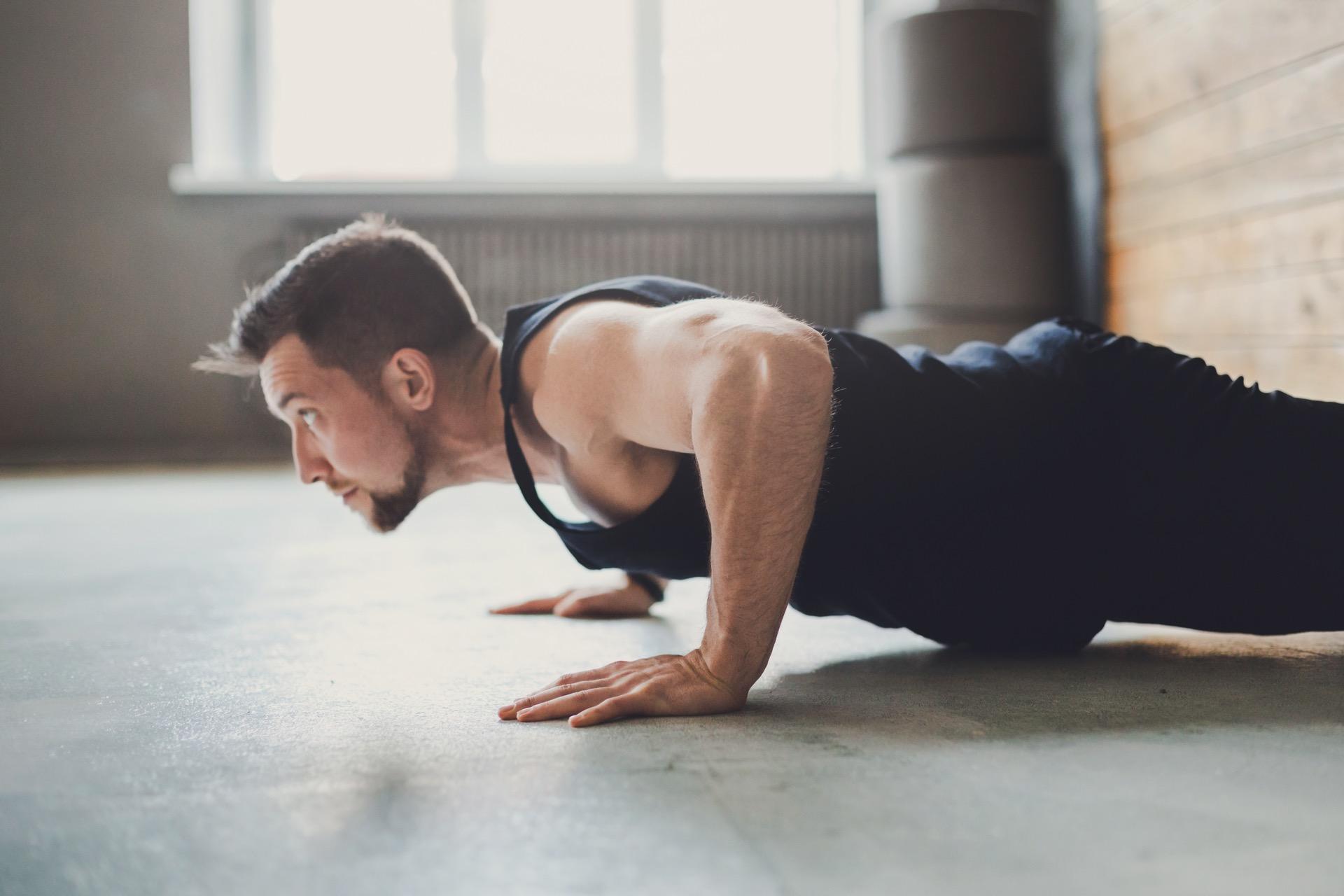 fitness trender og trening med kroppsvekt