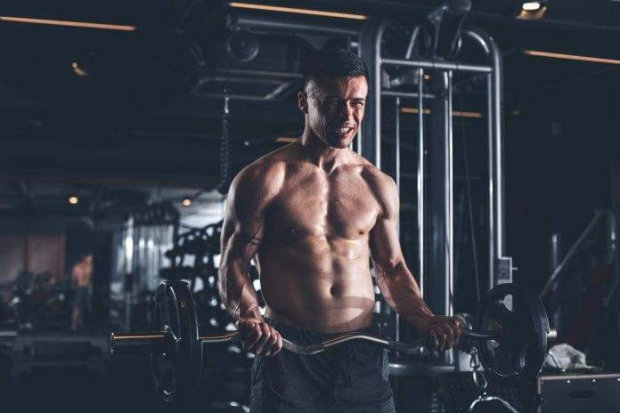 drag curl biceps trening
