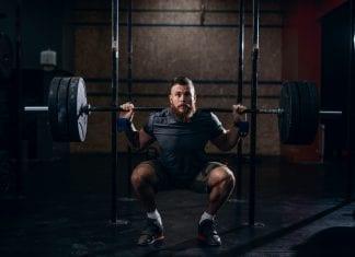 trening av bein og lår