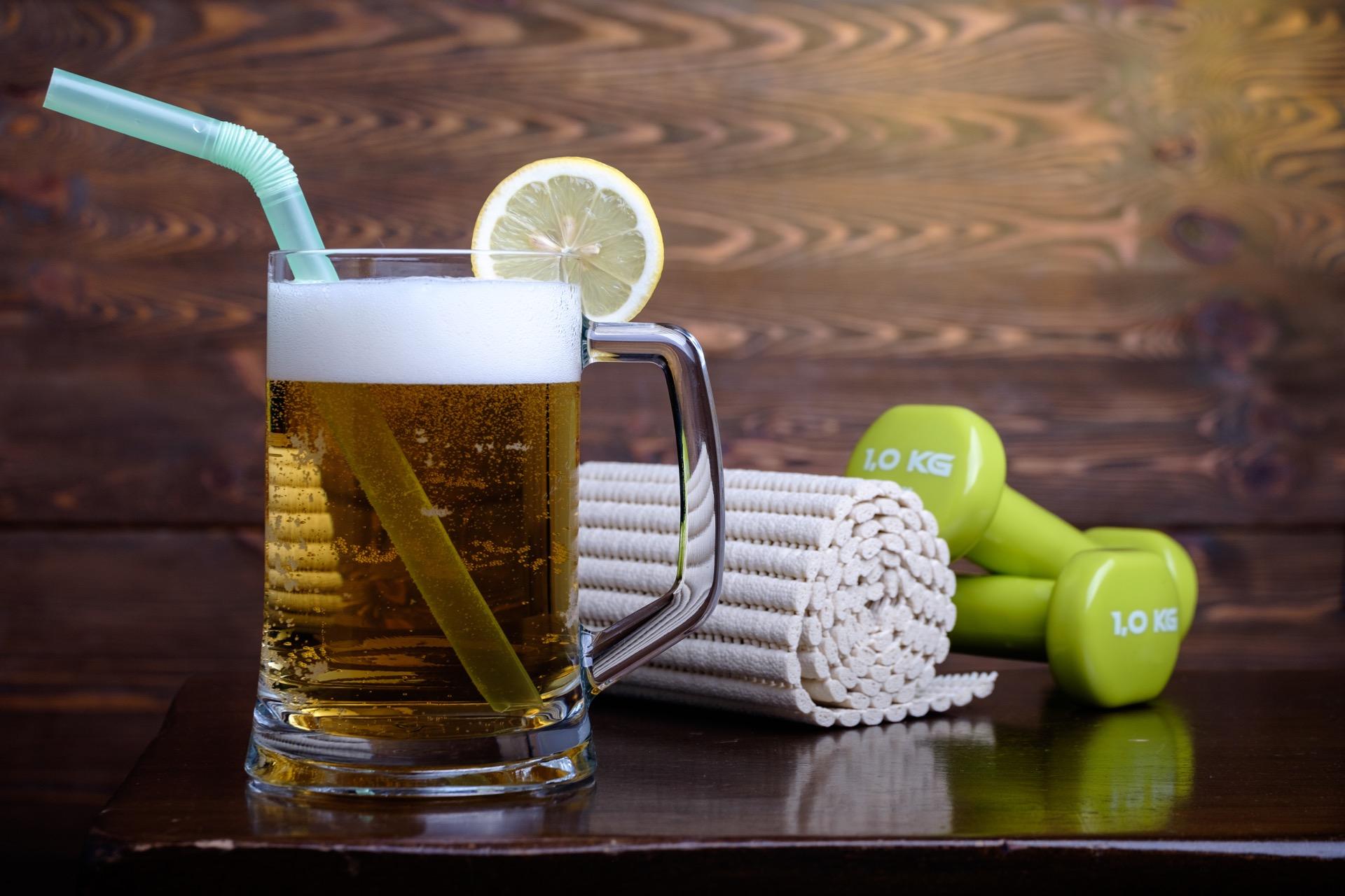 alkohol og trening