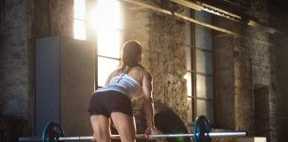 motstandsbånd trening for sterkere rumpe