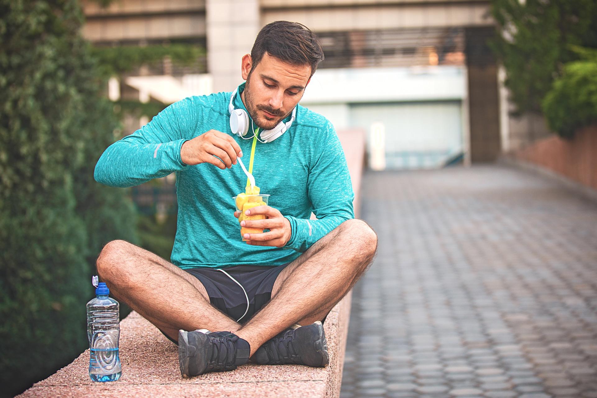 frukt og trening