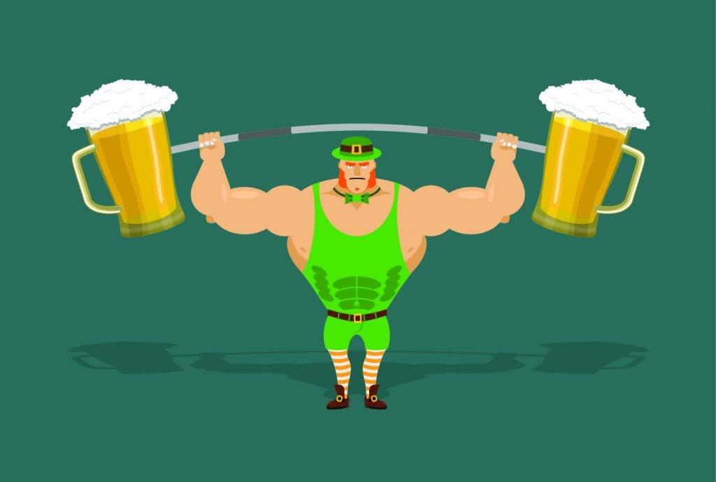 alkohol og styrketrening