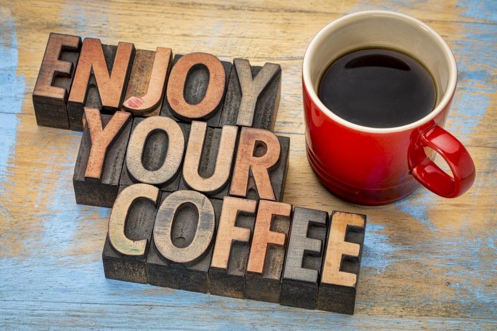 kaffe og trening