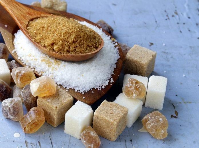brunt sukker sunt