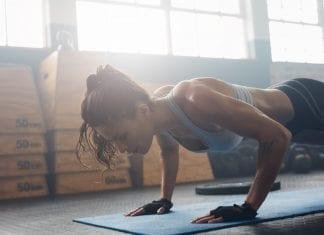 banded push-ups