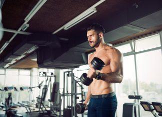 biceps trening