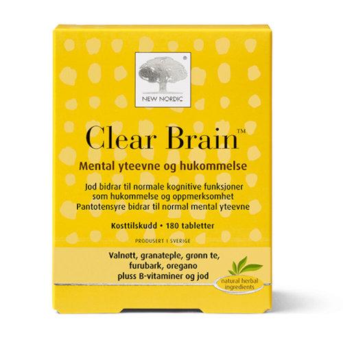 kosttilskudd for hukommelse og hjerne